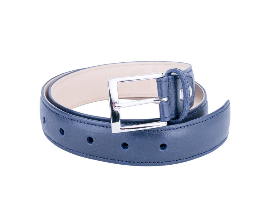 Blue Tango (Italian Leather Belt)