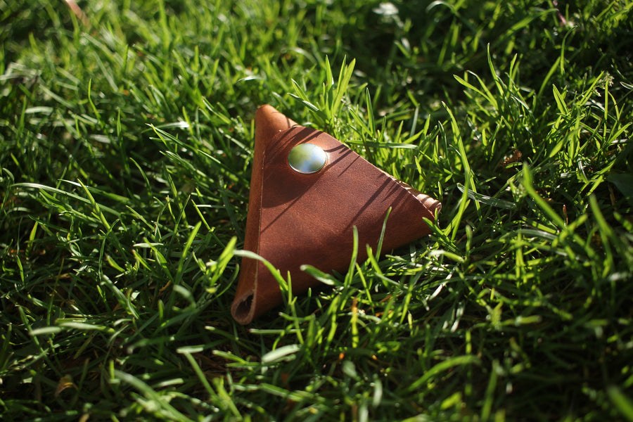 Triangle Accessory Pouch (Horween Line)
