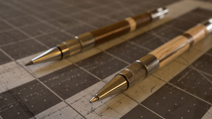 The Click Wooden Pen