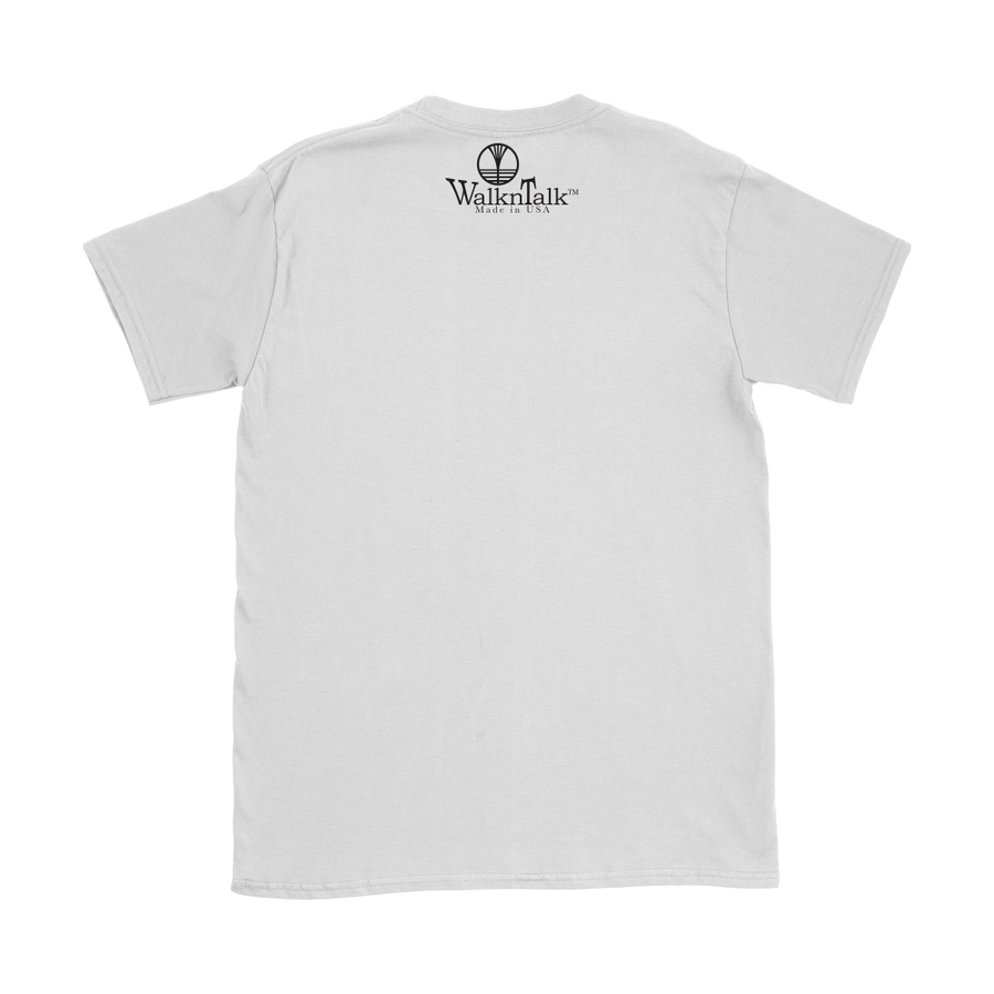 Women's WalknTalk White Tee 1