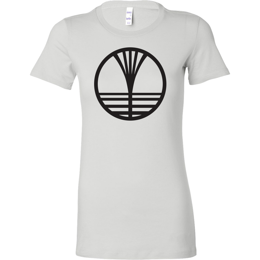 Women's WalknTalk White Tee