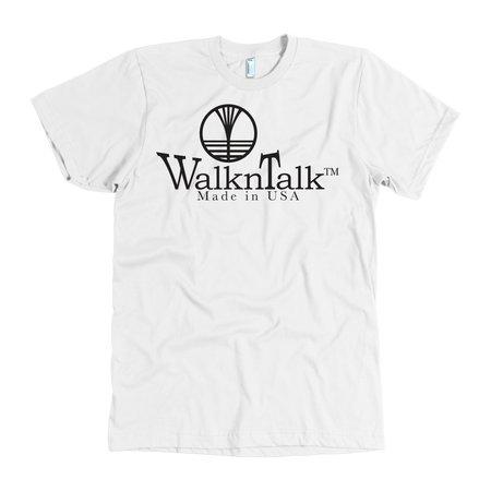 Men's WalknTalk White Tee
