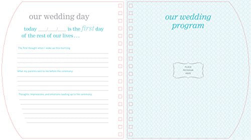 "The Bride-to-Be Book: A Journal of Memories From the Proposal to ""I Do"""