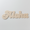 Our ALOHA puzzle wedding guestbook alternative looks great on its own, but after your wedding guests sign it, it may also become a cherished piece of home decor. Have it personalized with initials or date. By BELLA PUZZLES.