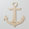 ANCHOR Custom Wooden Puzzle Guestbook Alternative
