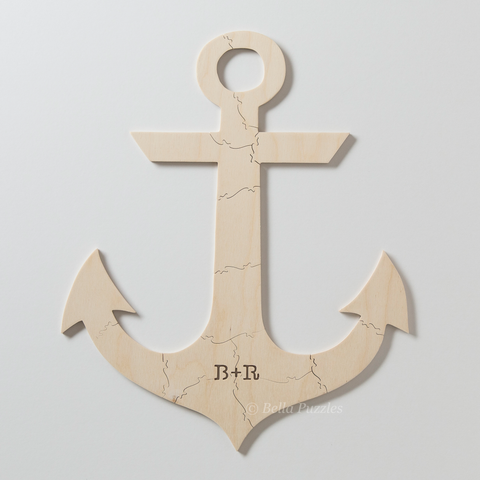 ANCHOR Puzzle Wedding Guestbook Alternative