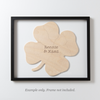 CLOVER Custom Wooden Puzzle Guestbook Alternative