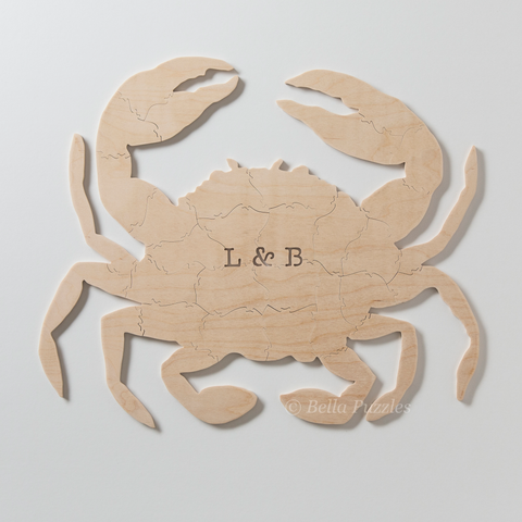 CRAB Puzzle Wedding Guest Book