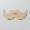MUSTACHE Custom Wooden Puzzle Guestbook Alternative