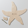 SEASTAR Custom Wooden Puzzle Guest Book Alternative