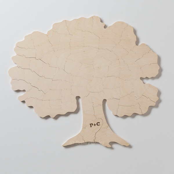 TREE Puzzle Wedding Guest Book