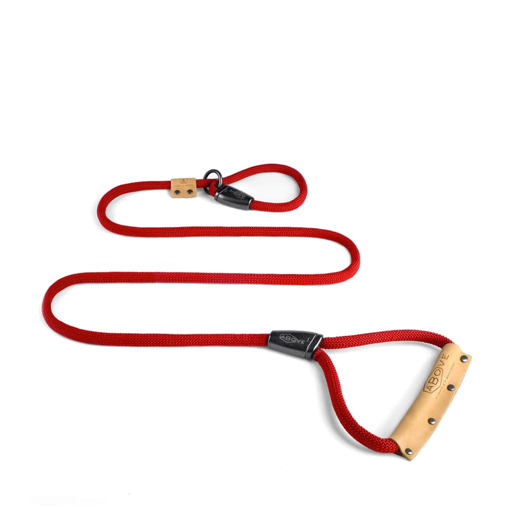 Above Slip Leash - Red