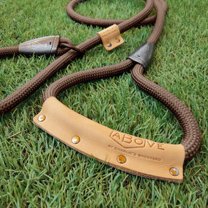 Above Slip Leash - Black