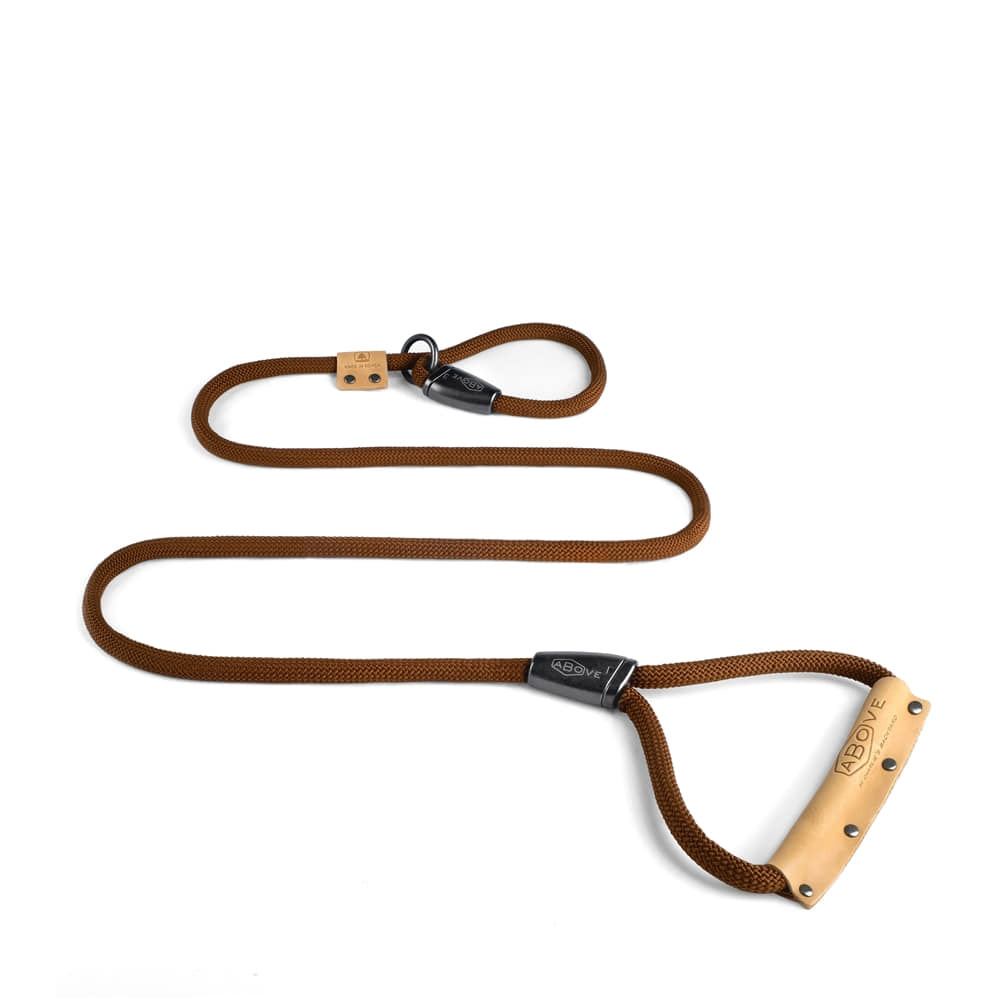 Above Slip Leash - Brown
