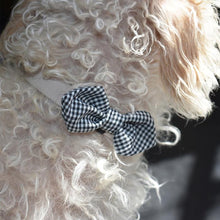 Load image into Gallery viewer, Bowtie - Black Gingham