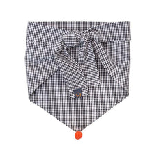 Load image into Gallery viewer, Neckwear- Black Gingham
