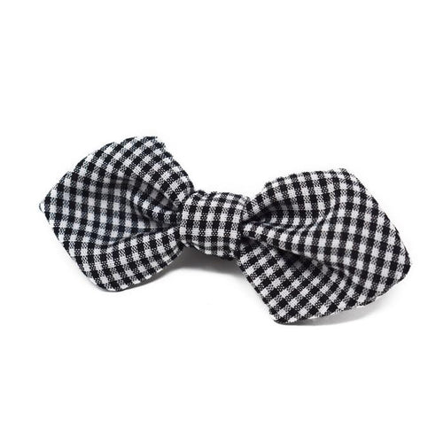 Bowtie - Black Gingham
