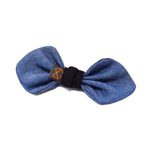Bowtie - Denim Chambray