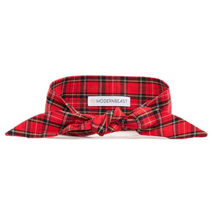 Necktie - Red Plaid