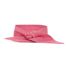 Load image into Gallery viewer, Necktie - Red Gingham