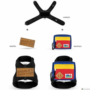 Backpack Harness - Red