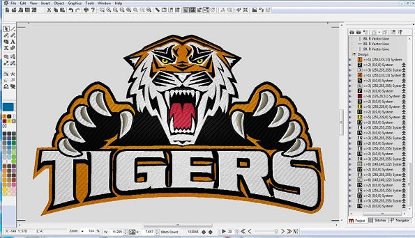 WHAT IS EMBROIDERY DIGITIZING ?
