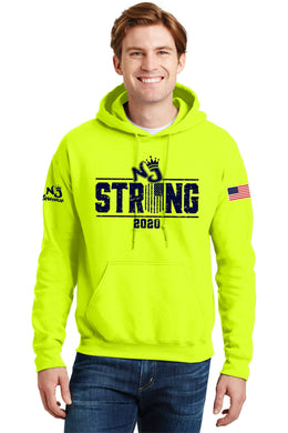 Gildan® - DryBlend® Pullover Hooded Sweatshirt SAFETY GREEN NJ