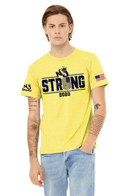 BELLA+CANVAS ® Unisex Heather CVC Short Sleeve Tee YELLOW (NJ)
