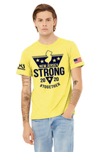 BELLA+CANVAS ® Unisex Heather CVC Short Sleeve Tee YELLOW