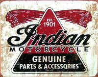 Indian Motocycle parts 1901-1953