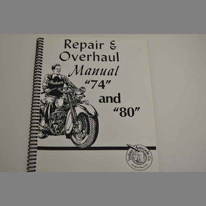 00675007 Manual Workshop for Chief 74 & 80 (JG-3114)
