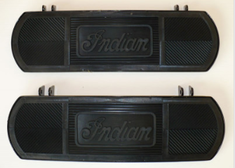 616 Footboard cw mat pair