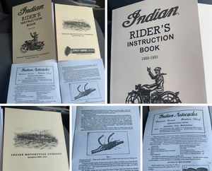 Riders manual 1920-31 Scout Chief