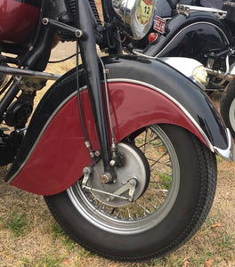 TWIN LEADING SHOE FRONT BRAKE SYSTEM TO FIT INDIAN CHIEF 1946 -1953