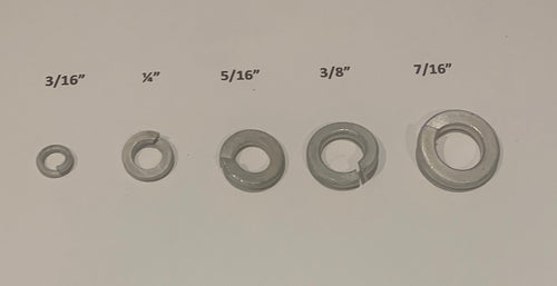 3.2.3/16 SPRING WASHER CAD PLATED PK5
