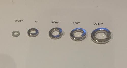 3.3.3/16 SPRING WASHER NICKLE PLATED PK5