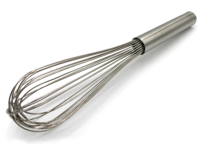"12"" Stainless Steel Silver Whisk"
