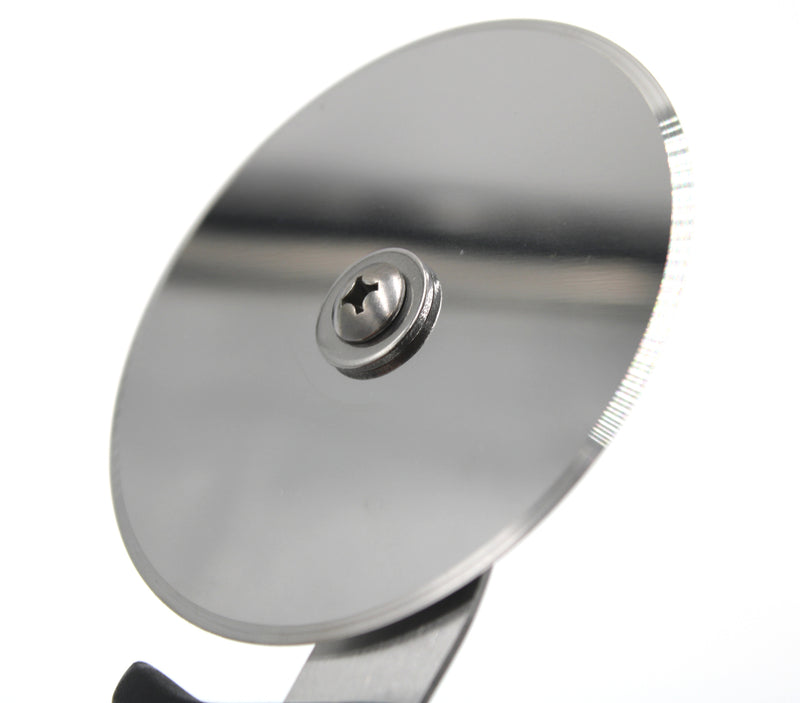 Sharp 4-inch Pizza Cutter with Comfortable Handle