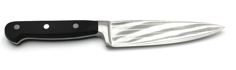 "6 "" Chef Knife German Steel with Black POM Handle"