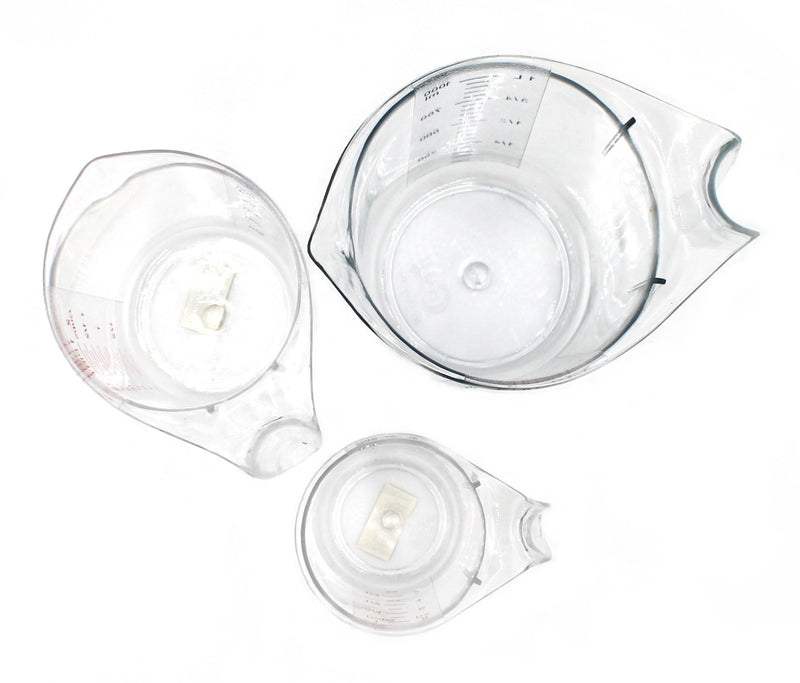 Clear Measuring Cup 3-Piece Set