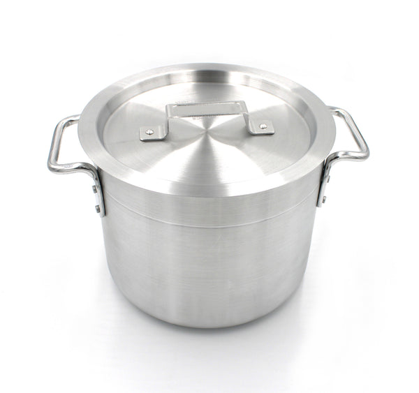 Aluminum Stock Pot 8-Quart with Lid