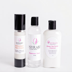 Basic Facial Kit For Normal, Dry and Mature Skin Naturally!