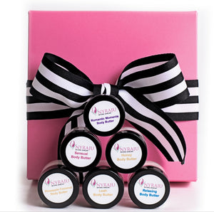 Body Butters Sample Gift Box for Black Skin Care