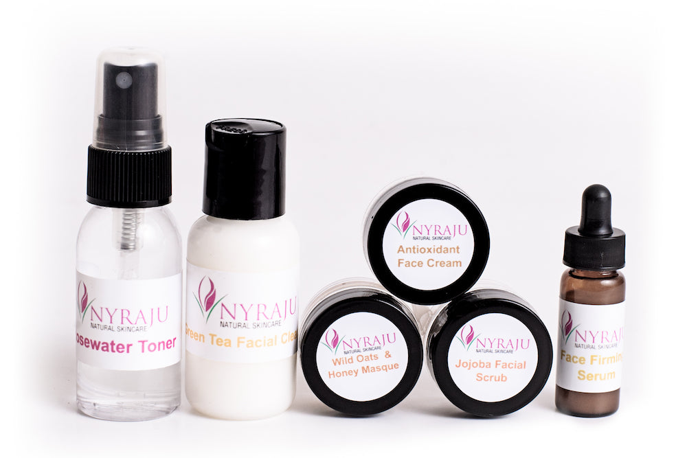 Natural Black Skin Care Sample Kit