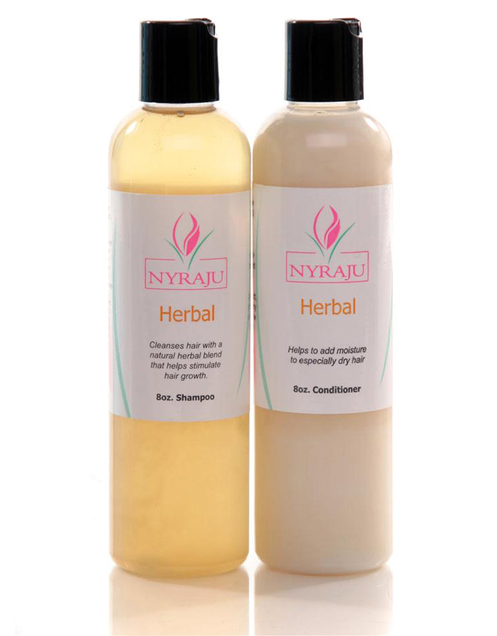 Herbal Hair Set - Shampoo and Conditioner