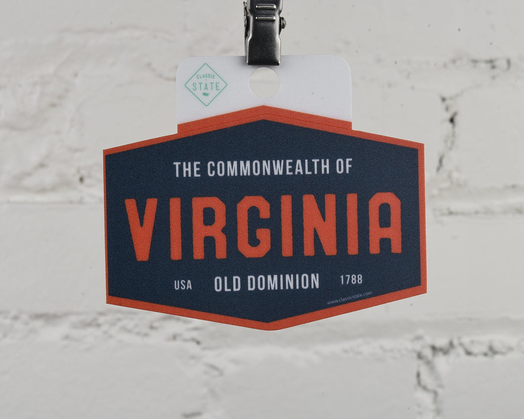 Virginia Old Dominion Sticker