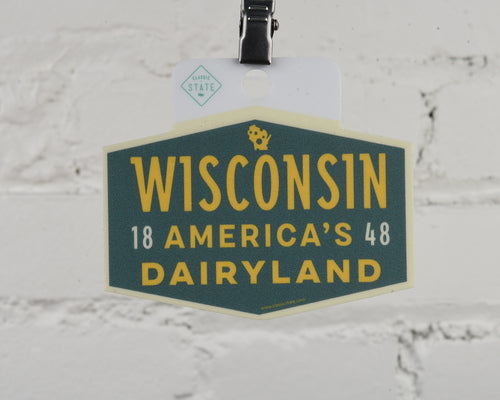 Wisconsin Dairyland Sticker