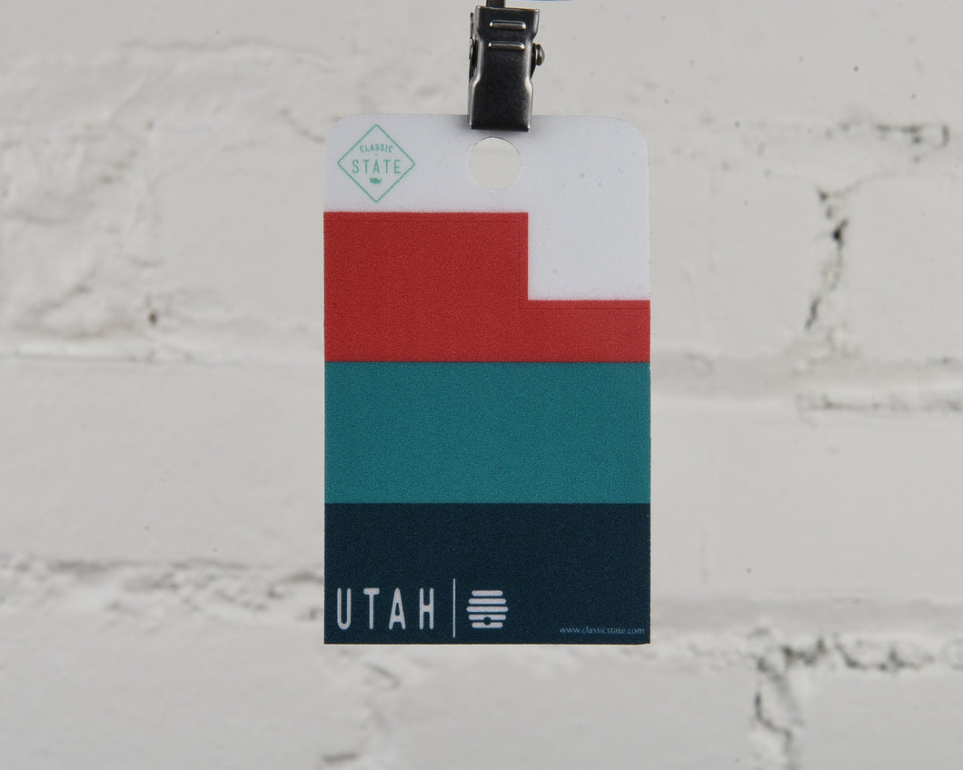 Utah Ombre Sticker
