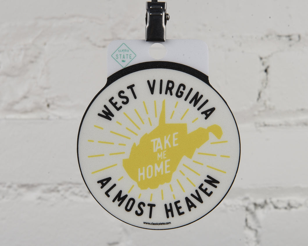 West Virginia Almost Heaven Sticker