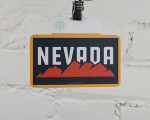 Nevada Schells Sticker